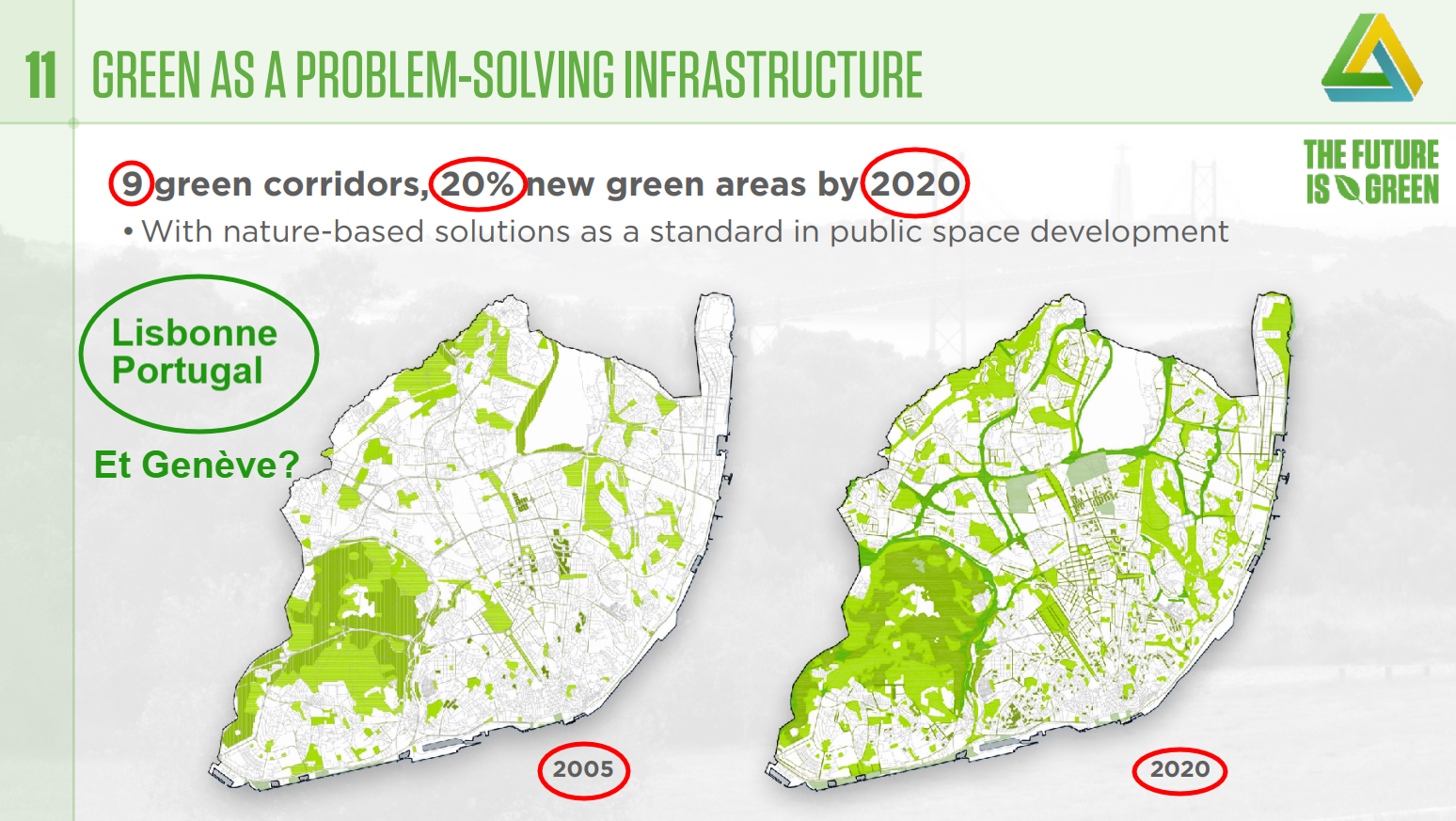 Green as a problem-solving infrastructure